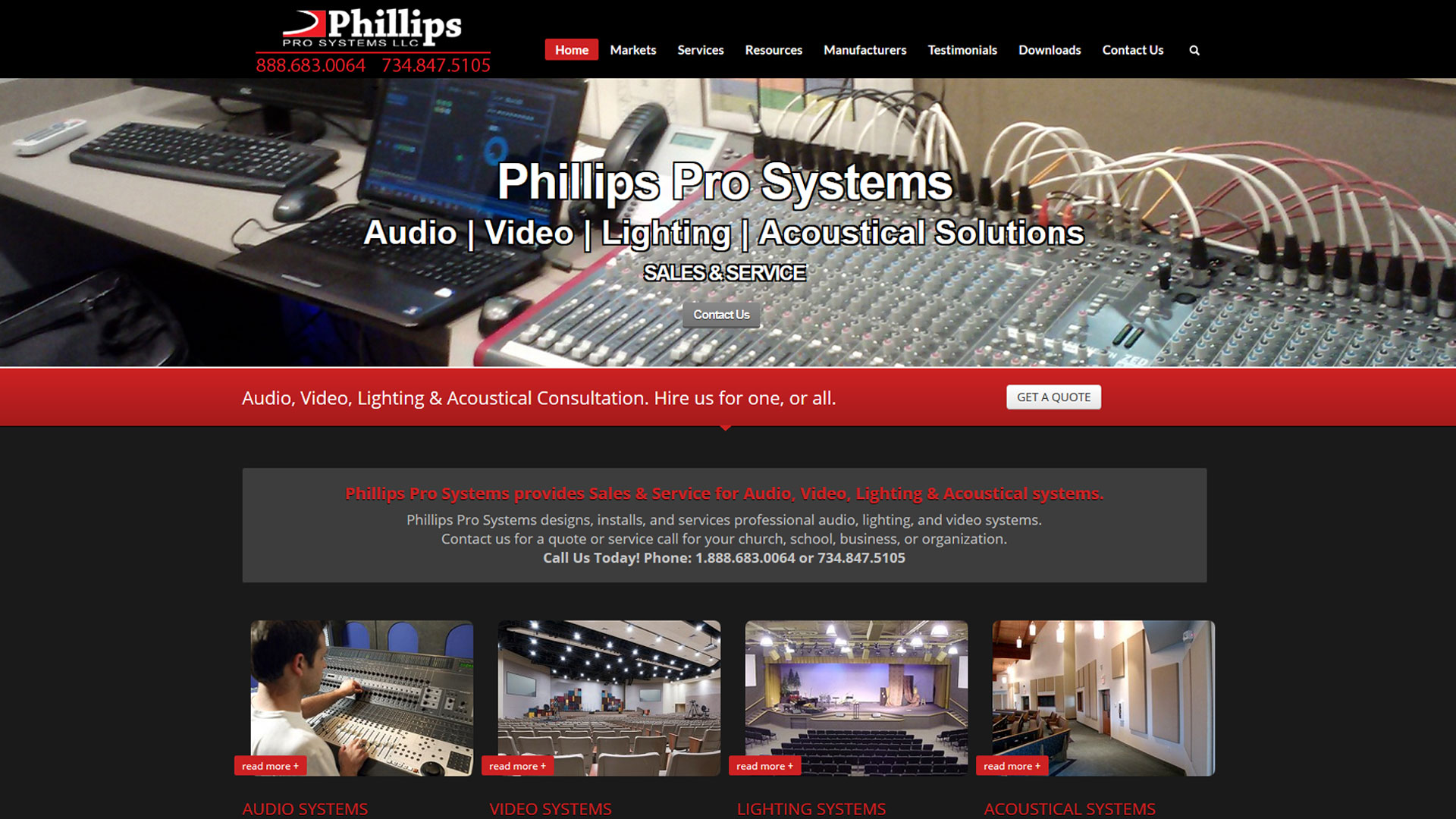 Phillips Pro Systems – Temperance, MI