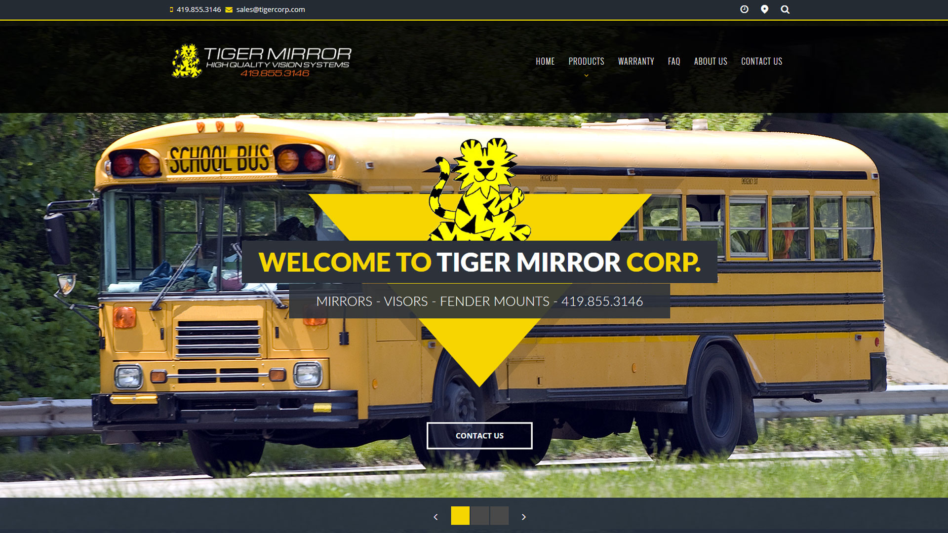 Tiger Mirror Corp. – Clay Center, Ohio